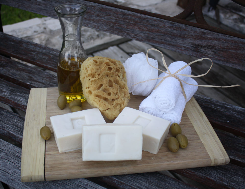 Pure Castile Soap $5 - Dating back to 12th century Spain, this classic, simple soap made from 100% olive oil is a luxurious treat for adult skin, and gentle enough for baby, too.